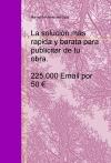 Portada de LA PUBLICIDAD DE TU OBRA