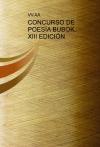 Portada de CONCURSO DE POESÍA BUBOK. XIII EDICIÓN