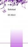 Portada de SOLICITUD DE ASILO
