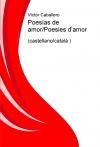Portada de POESÍAS DE AMORPOESIES D'AMOR CASTELLANOCATALÀ