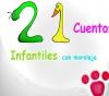 Portada de 21 CUENTOS INFANTILES CON MORALEJA