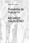 Portada de PASODOBLE DE CONCIERTO RICARDO SALGUEIRO