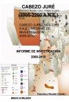 Portada de CABEZO JURÉ 30002200 A.N.E. INFORME DE INVESTIGACIÓN 20082010