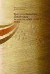 Portada de EJERCICIOS RESUELTOS: SELECTIVIDAD  ANDALUCÍA, AÑOS 2008 A 2010