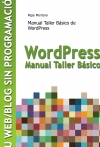 Portada de MANUAL TALLER BÁSICO DE WORDPRESS