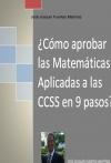 Portada de CÓMO APROBAR LAS MATEMÁTICAS APLICADAS A LAS CCSS II EN 9 PASOS