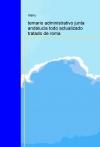 Portada de TEMARIO ADMINISTRATIVO JUNTA ANDALUCIA TODO ACTUALIZADO TRATADO DE ROMA
