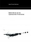 Portada de MATEMÁTICAS DE LAS OPERACIONES FINANCIERAS