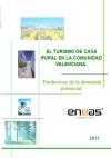 Portada de EL  TURISMO DE CASA RURAL EN LA COMUNIDAD VALENCIANA. TENDENCIAS DE LA DEMANDA POTENCIAL
