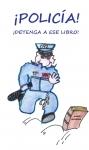 Portada de POLICÍA DETENGA A ESE LIBRO