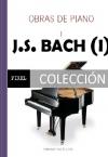 Portada de OBRAS PARA PIANO DE J.S. BACH I