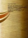 Portada de DERECHO DE ACRECER EN LOS LEGADOS ROMANOS Y LA FIGURA DE LA CONJUNCIÓN O CONIUNCTIM. INCIDENCIA EN EL CÓDIGO CIVIL ARGENTINO