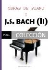 Portada de OBRAS DE PIANO DE J.S.BACH II