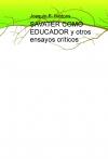 Portada de SAVATER COMO EDUCADOR Y OTROS ENSAYOS CRÍTICOS