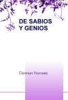 Portada de DE SABIOS Y GENIOS