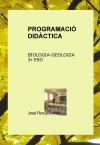 Portada de PROGRAMACIÓ DIDÀCTICA BIOLOGIA I GEOLOGIA 3R ESO