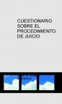 Portada de CUESTIONARIO SOBRE EL PROCEDIMIENTO DE JUICIO VERBAL
