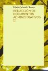 Portada de REDACCIÓN DE DOCUMENTOS ADMINISTRATIVOS II