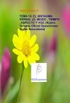Portada de TEMA 19. EL SINTAGMA VERBAL 2 :MODO , TIEMPO , ASPECTO Y VOZ. NUEVO TEMARIO OFICIAL OPOSICIONES INGLÉS SECUNDARIA
