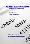 Portada de MANUAL BÁSICO DE HTML. GUÍA DEL ALUMNO