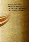 Portada de MEMORIA DESCRIPTIVA DE CÓMO SE CALCULA UN MOVIMIENTO DE TIERRAS