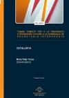Portada de TEMARIS COMPLETS PER A LA PREPARACIÓ D'OPOSICIONS D'ACCÉS A LA SUBESCALA DE SECRETARIAINTERVENCIÓ. CATALUNYA. VOLUM IV